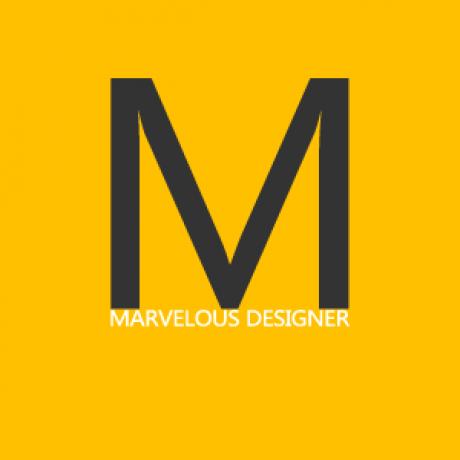 MARVELOUS DESIGNER 的群组图标